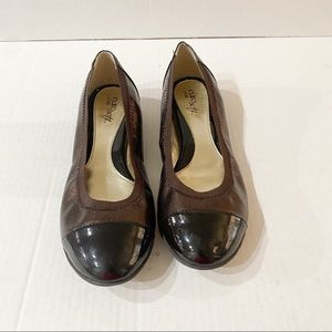Euro Sofft Flats brown size 7m